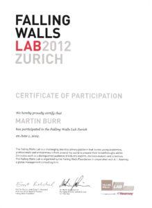 Falling Walls Lab Zurich